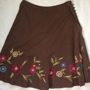 J Jill Women's Skirt Sz 12P